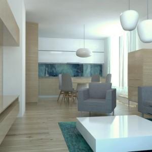 Návrh interiéru bytu na Miletičovej ul., Bratislava
